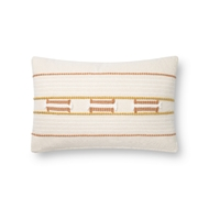 Magnolia Home by Joanna Gaines Natural & Blush Pillow P1141 - Designer Pillow