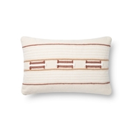 Magnolia Home by Joanna Gaines Natural & Spice Pillow P1141 - Designer Pillow