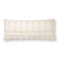 Magnolia Home by Joanna Gaines Ivory Pillow P1142 - Designer Pillow