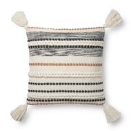 Magnolia Home by Joanna Gaines Natural & Multi Pillow P1144 - Designer Pillow