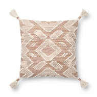 Magnolia Home by Joanna Gaines Blush & Natural Pillow P1147 - Designer Pillow
