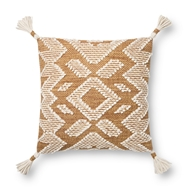 Magnolia Home by Joanna Gaines Gold Natural Pillow P1147 - Designer Pillow