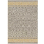 Magnolia Home Emmie Kay Rug by Joanna Gaines - Grey & Maize