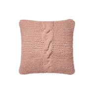 "Magnolia Home by Joanna Gaines 18"" x 18"" Adeline Pillow Blush - P1040"