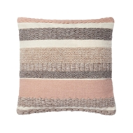"Magnolia Home by Joanna Gaines 22"" x 22"" Delphine Pillow Blush - P1042"