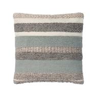 "Magnolia Home by Joanna Gaines 22"" x 22"" Delphine Pillow Sage - P1042"