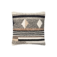 "Magnolia Home 18"" x 18"" Shannon Pillow Multi - P1047 by Joanna Gaines"