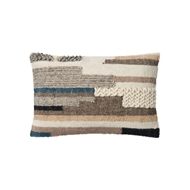 "Magnolia Home 13"" x 21"" Jonathon Pillow Multi - P1048 by Joanna Gaines"