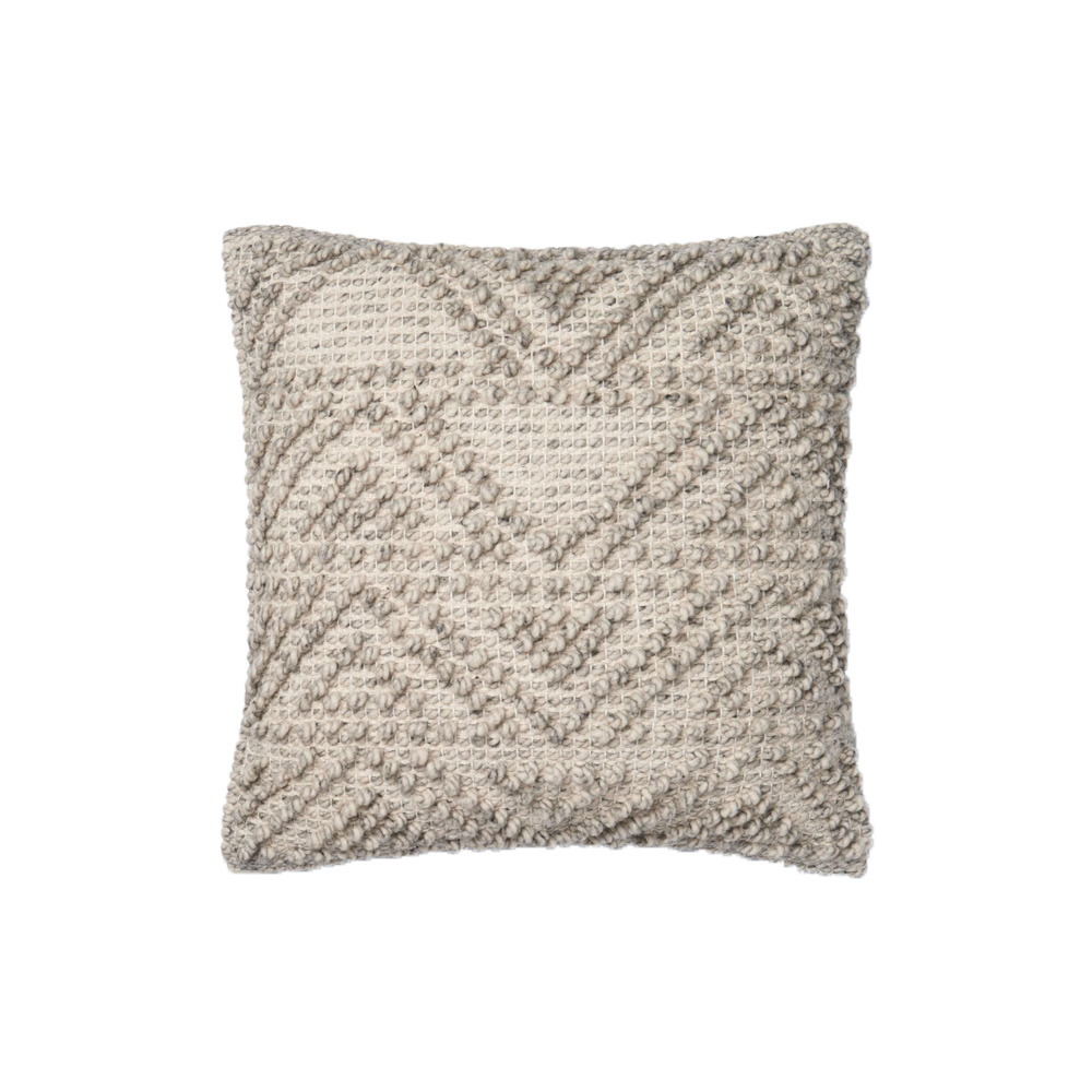 Magnolia Home by Joanna Gaines 18 x 18 Eldon Pillow Grey - P1049