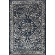 Magnolia Home Everly Rug by Joanna Gaines - Grey & Midnight