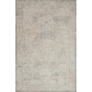 Magnolia Home Everly Rug by Joanna Gaines - Ivory & Ivory