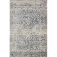 Magnolia Home Everly Rug by Joanna Gaines - Mist & Mist