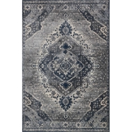 Magnolia Home Everly Rug by Joanna Gaines - Silver & Grey