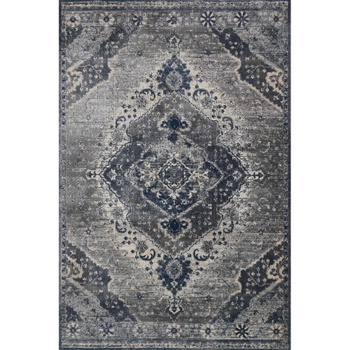 Magnolia Home Everly Rug - Silver & Grey by Joanna Gaines