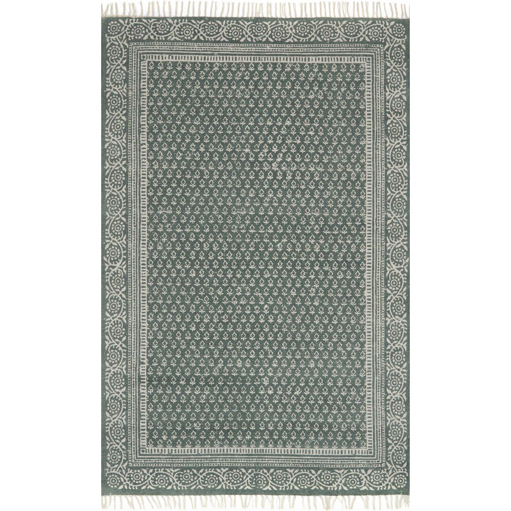 Magnolia Home June Rug - Green by Joanna Gaines