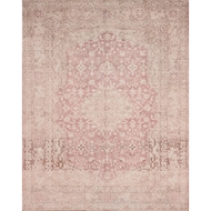 Magnolia Home Lucca Rug by Joanna Gaines - Terracotta & Ivory