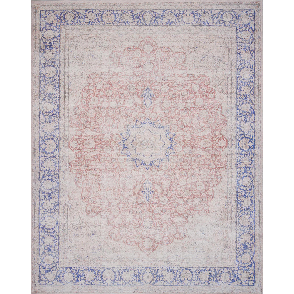 Magnolia Home Lucca Rug - Terracotta & Blue by Joanna Gaines