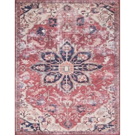 Magnolia Home Lucca Rug - Rust & Ivory by Joanna Gaines