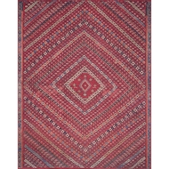 Magnolia Home Lucca Rug - Red & Multi by Joanna Gaines