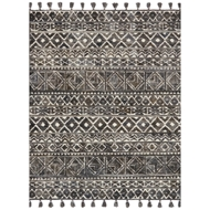 Magnolia Home Teresa Rug by Joanna Gaines - Ivory & Charcoal
