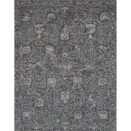 Magnolia Home Tristin Rug - Charcoal & Charcoal by Joanna Gaines