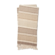 Magnolia Home Anna Beige & Ivory Throw Blanket by Joanna Gaines