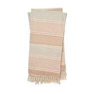 Magnolia Home Anna Blush & Ivory Throw Blanket by Joanna Gaines