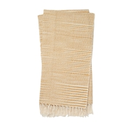Magnolia Home Jane Gold & Ivory Throw Blanket by Joanna Gaines
