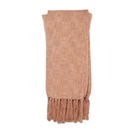Magnolia Home Lark Blush Throw Blanket by Joanna Gaines