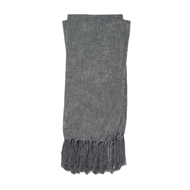 Magnolia Home Lark Charcoal Throw Blanket by Joanna Gaines