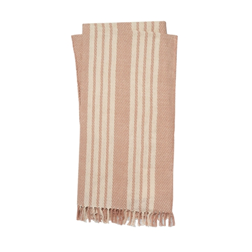 Magnolia Home Lora Blush & Ivory Throw Blanket by Joanna Gaines