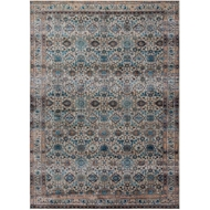 Magnolia Home Kivi Rug by Joanna Gaines - Fog & Multi
