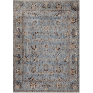 Magnolia Home Kivi Rug by Joanna Gaines - Lt. Blue & Clay