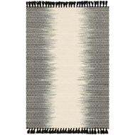 Magnolia Home Chantilly Rug by Joanna Gaines - Ivory / Black