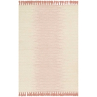 Magnolia Home Chantilly Rug by Joanna Gaines - Ivory / Blush