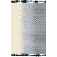 Magnolia Home Chantilly Rug by Joanna Gaines - Ivory / Navy