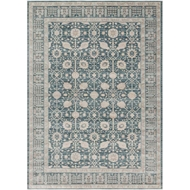 Magnolia Home Ella Rose Rug by Joanna Gaines - Dark Blue