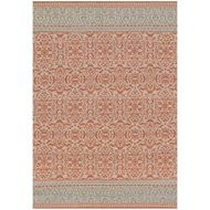 Magnolia Home Emmie Kay Rug by Joanna Gaines - Persimmon / Grey