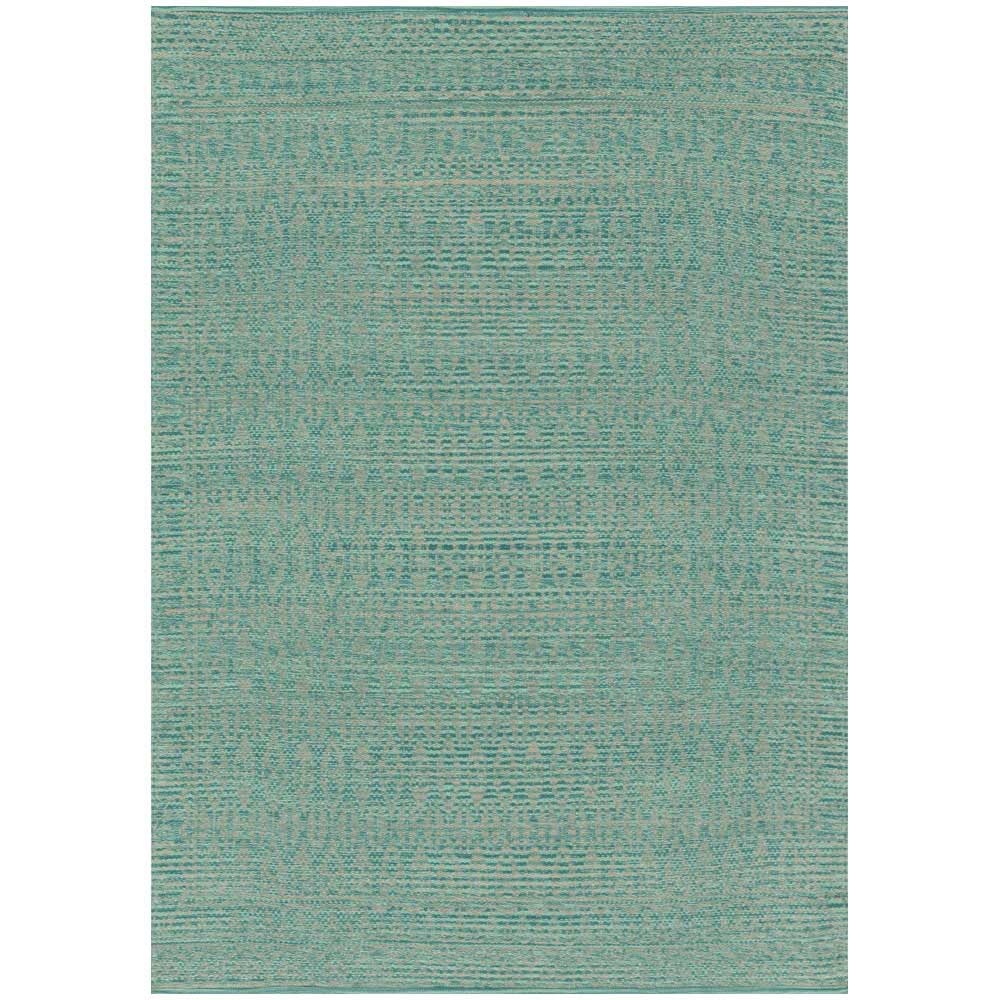 Magnolia Home Emmie Kay Rug By Joanna Gaines Turquiose Dove Aerial Back