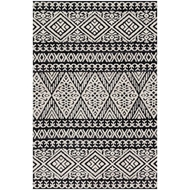 Magnolia Home Lotus Rug by Joanna Gaines - Black / Silver