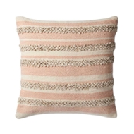 Magnolia Home by Joanna Gaines Pink & Ivory PillowP1022