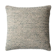 "Magnolia Home by Joanna Gaines 22"" x 22"" Sosa Pillow Grey - P1031"