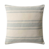 Magnolia Home by Joanna Gaines Aqua & Ivory PillowP1032