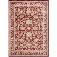 Magnolia Home Trinity Rug by Joanna Gaines - Crimson