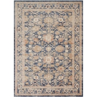 Magnolia Home Trinity Rug by Joanna Gaines - Navy