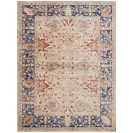 Magnolia Home Trinity Rug by Joanna Gaines - Sand And Blue