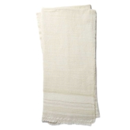 Magnolia Home by Joanna Gaines Alissa Ivory & Beige Throw Blanket