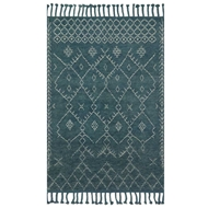 Magnolia Home Tulum Rug by Joanna Gaines - Blue / Blue