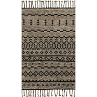 Magnolia Home Tulum Rug by Joanna Gaines - Graphite / Black