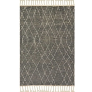 Magnolia Home Tulum Rug by Joanna Gaines - Grey / Ivory